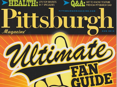 Pittsburgh Magazine recognizes our dental practice.